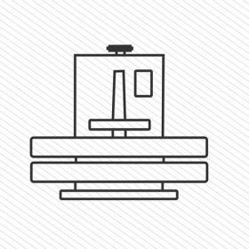 mesin press kaos icon