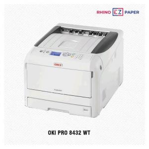 Mesin OKI White Toner Pro 8432 WT Rhinoezpaper