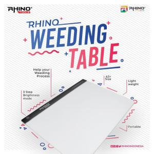 Rhino weeding table