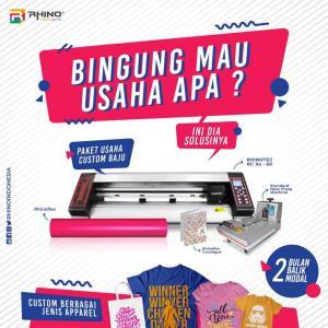 Paket Usaha Custom Baju