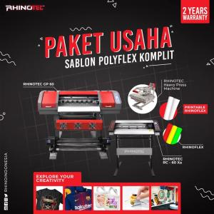 Paket Usaha Sablon Polyflex Komplit